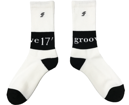 GROOVE17' SOX(WHITE)