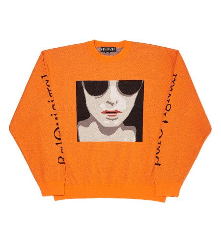 ANONYMOUS FEMALE SWEATER(ORANGE)