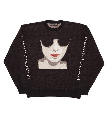 ANONYMOUS FEMALE SWEATER(BLACK)