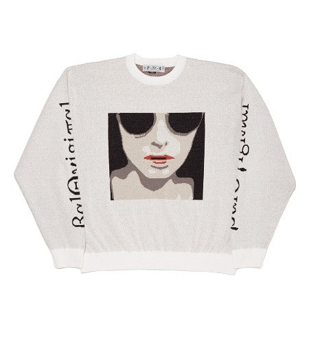 ANONYMOUS FEMALE SWEATER(WHITE)