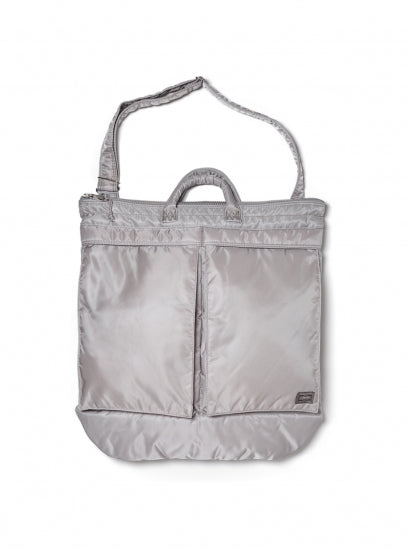 BAL/PORTER FLIGHT NYLON HELMET BAG(GREY)
