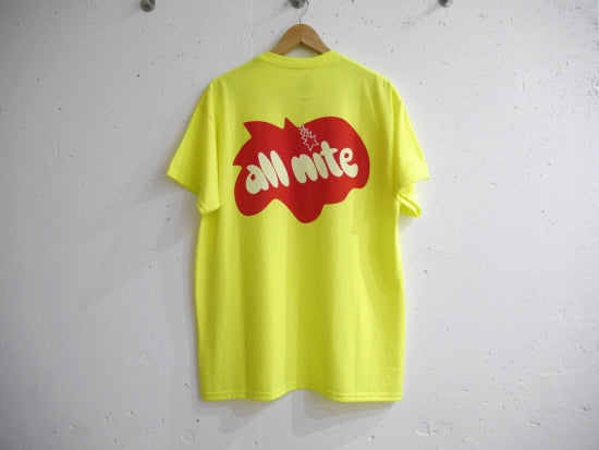 BAL×Re'verth LIMITED Tee「all nite」(YELLOW)