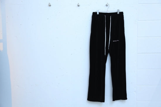 VELOR PANTS(BLACK)