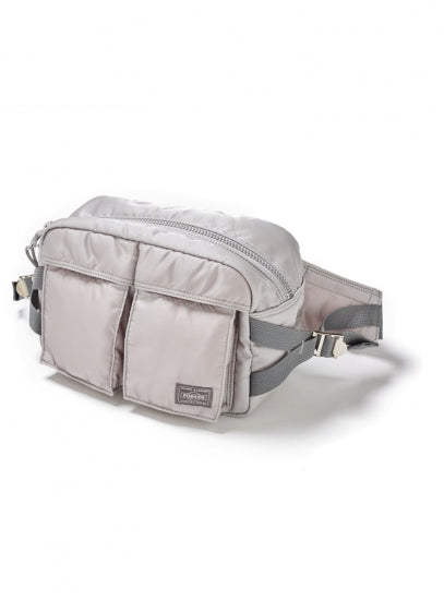 BAL/PORTER FLIGHT NYLON WAIST BAG(SILVER)