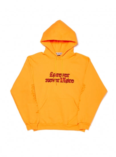 Forever nevermore hoodie(ORANGE)