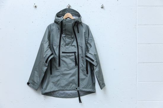 3LAYER TRIPLE ZIP TECH PARKA(SILVER)