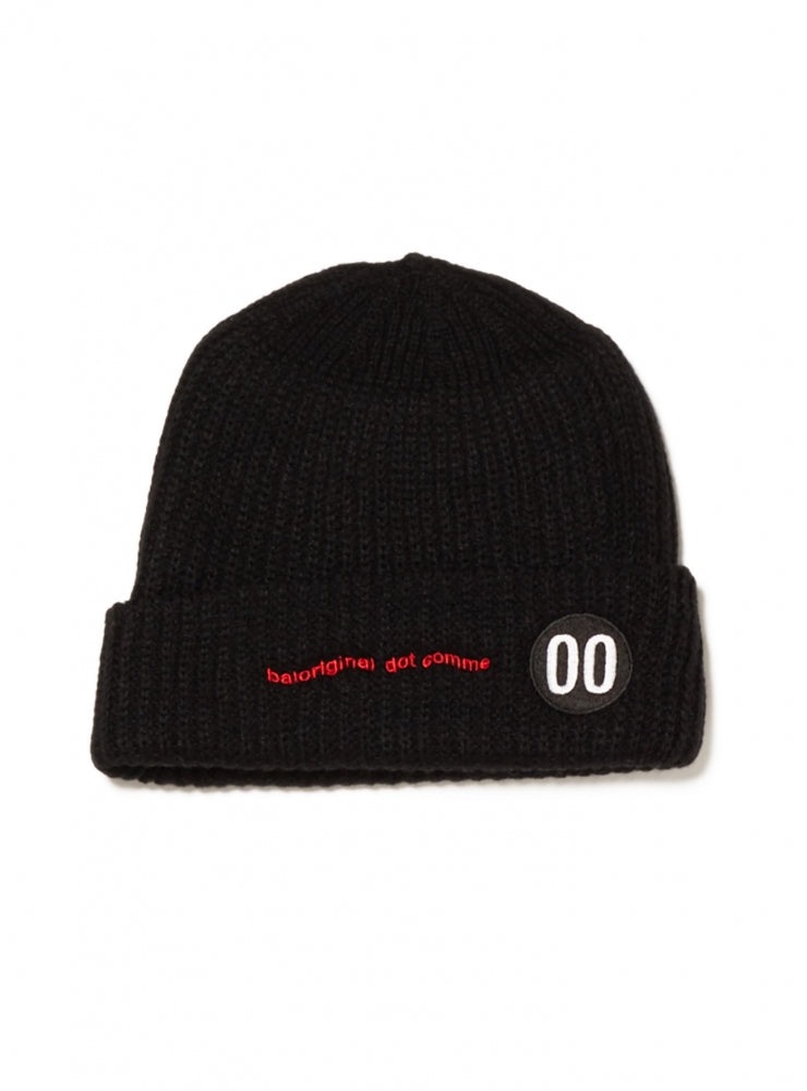 Dot comme LOOSE GAGE BEANIE(BLACK)