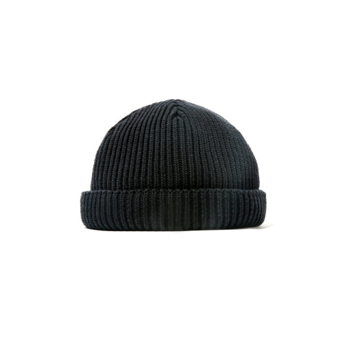 SHORT LENGTH WATCH CAP(BLACK)