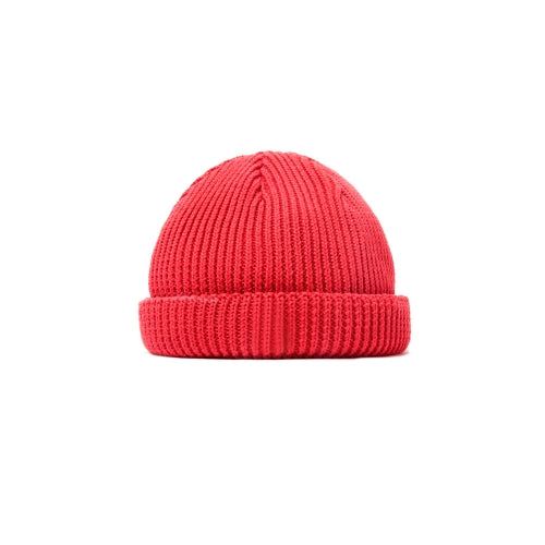SHORT LENGTH WATCH CAP(RED)
