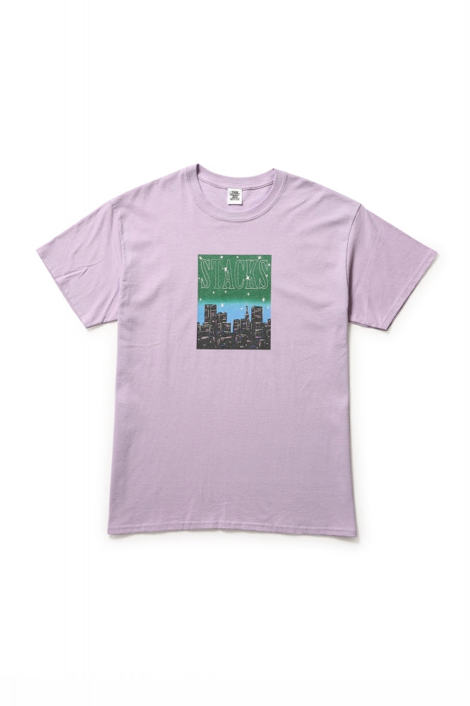 STACKS TEE(PURPLE)