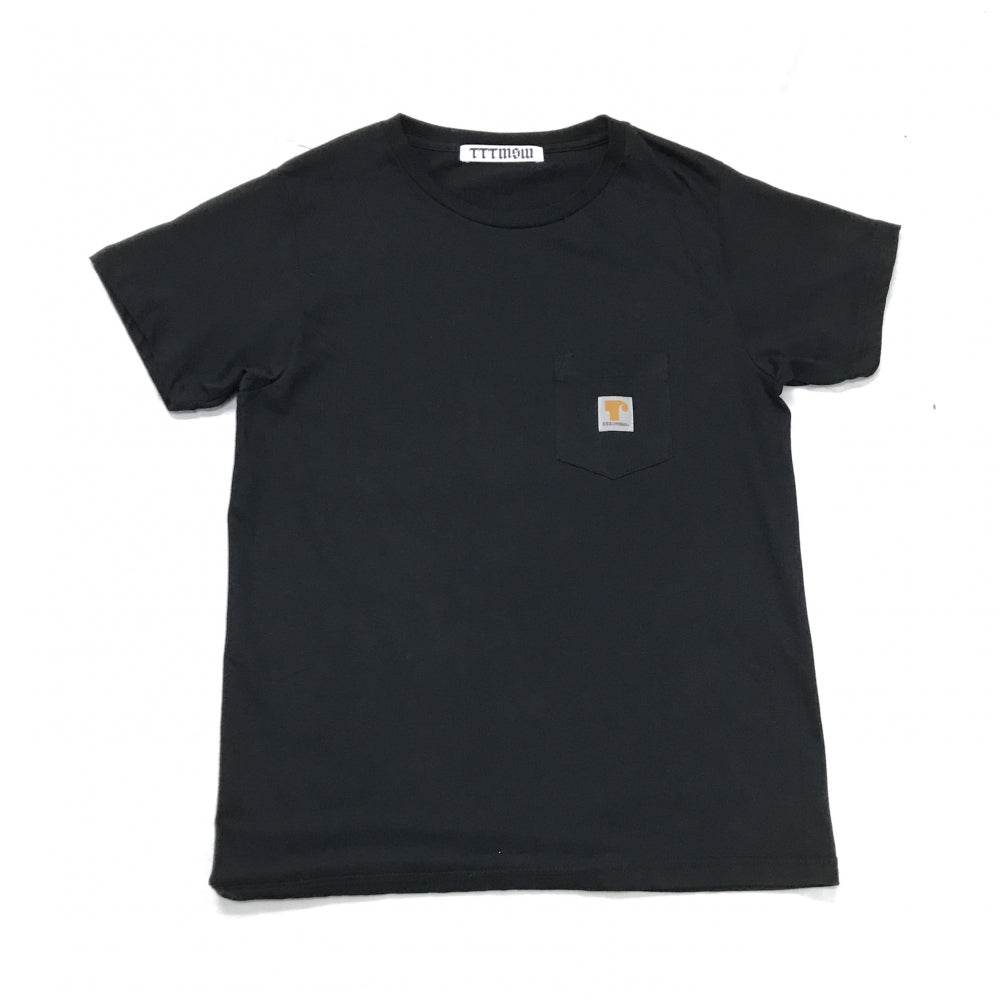 LOGO POCKET TEE(BLACK)