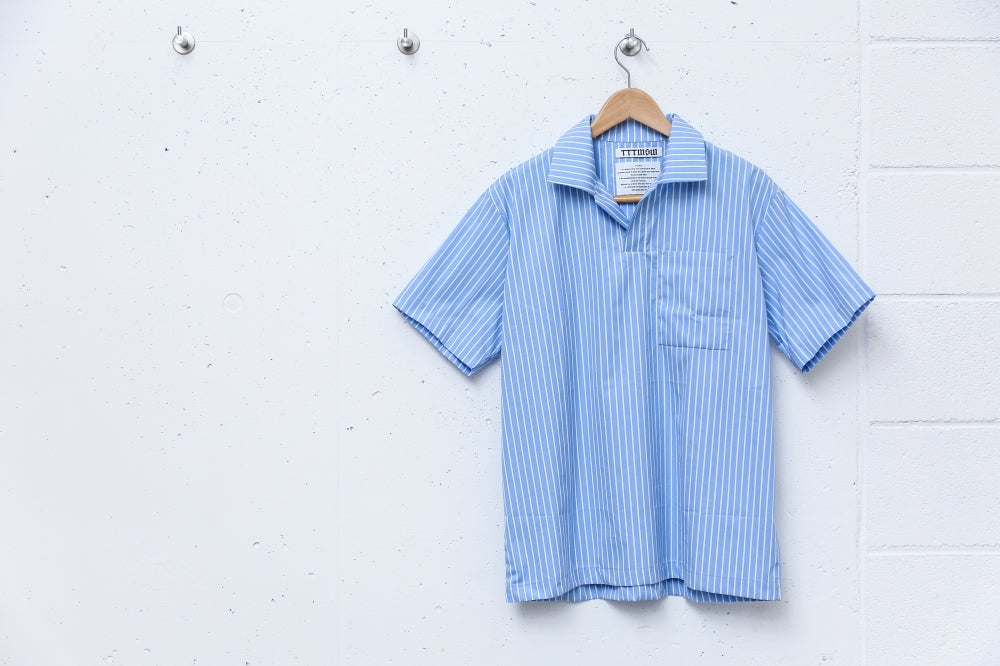 POLO SHIRT(BLUE)