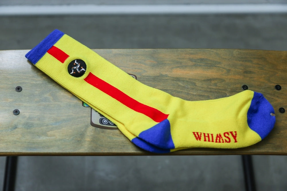 WHIMSY 32/1 POESSION SOCKS(YELLOW)