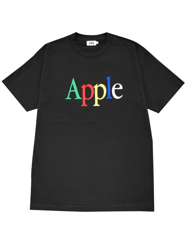 APPLE T-SHIRTS(BLACK)