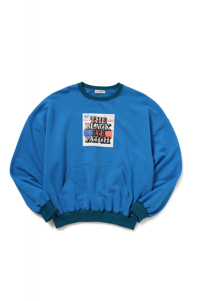 LABEL CREWNECK(BLUE)