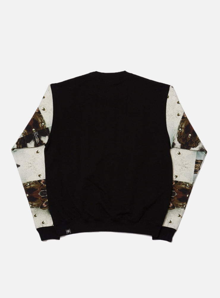 SPLASH & ORE PRINTED SWEATSHIRT(BLACK)