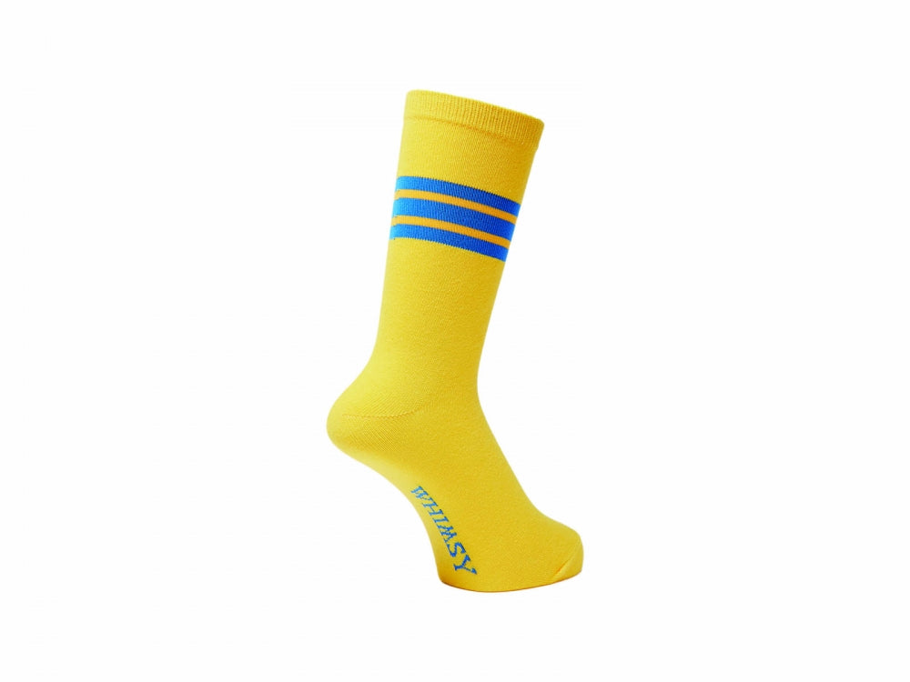 WHIMSY 32/1 FRESH DELIVERY SOCKS(YELLOW)
