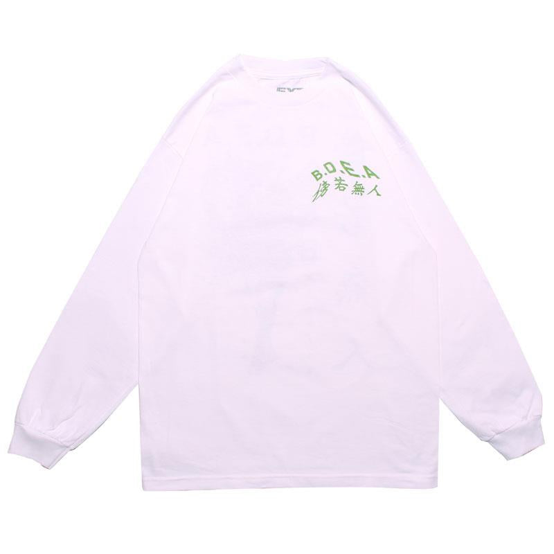 JOURNEY LS TEE(WHITE)
