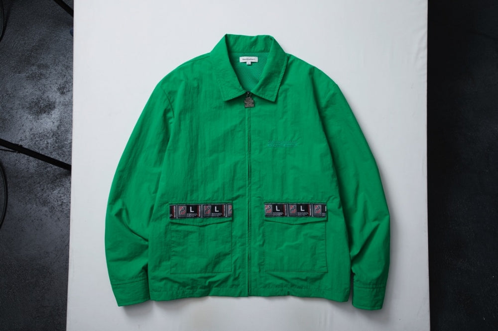 TAPED BLOUSON(GREEN)