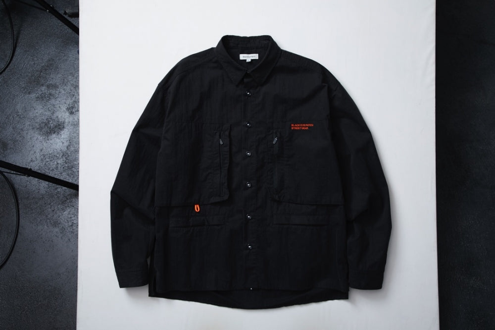 RIPSTOP L/S SHIRT(BLACK)