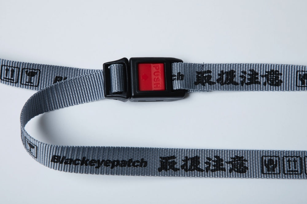 HANDLE WITH CARE BELT(GREY)