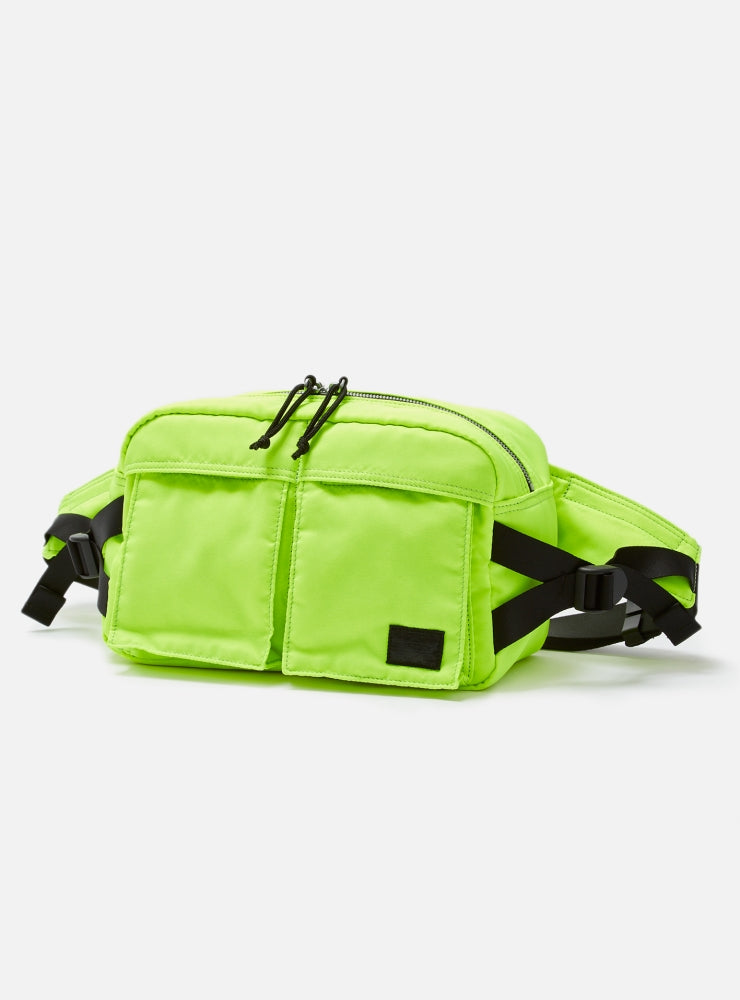 BAL/PORTER® FLGHT NYLON WAIST BAG(NEON YELLOW)