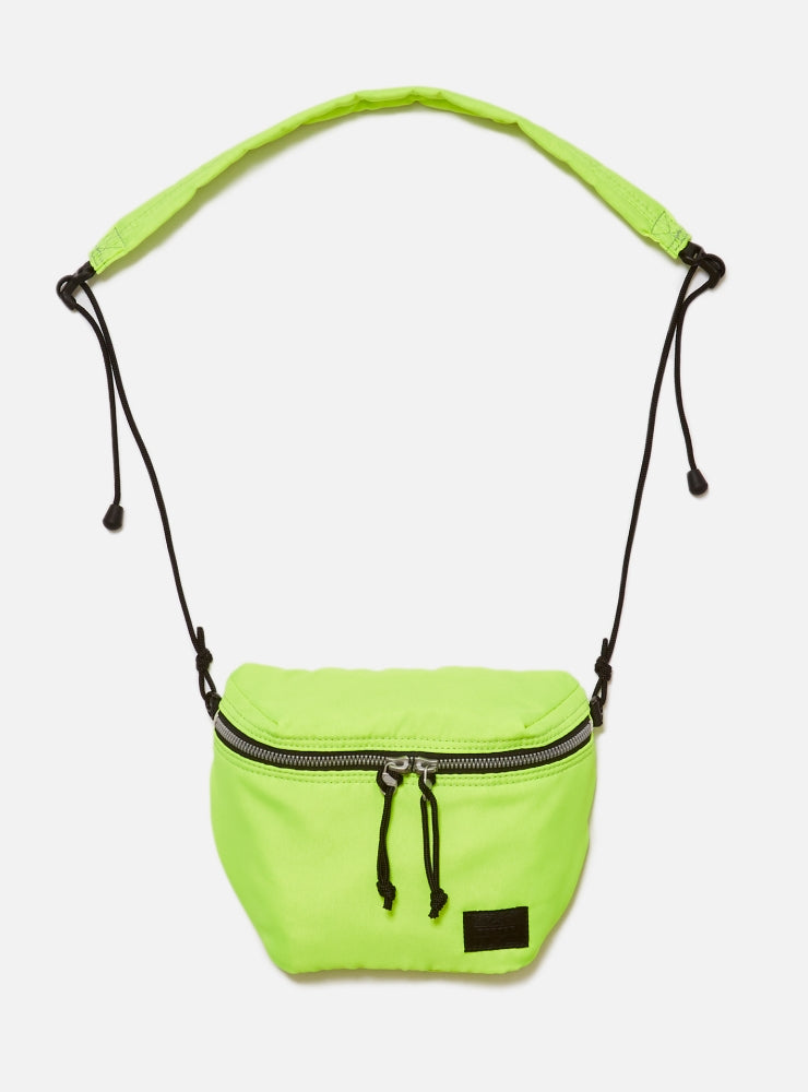 BAL/PORTER® FLGHT NYLON SACOCH(NEON YELLOW)