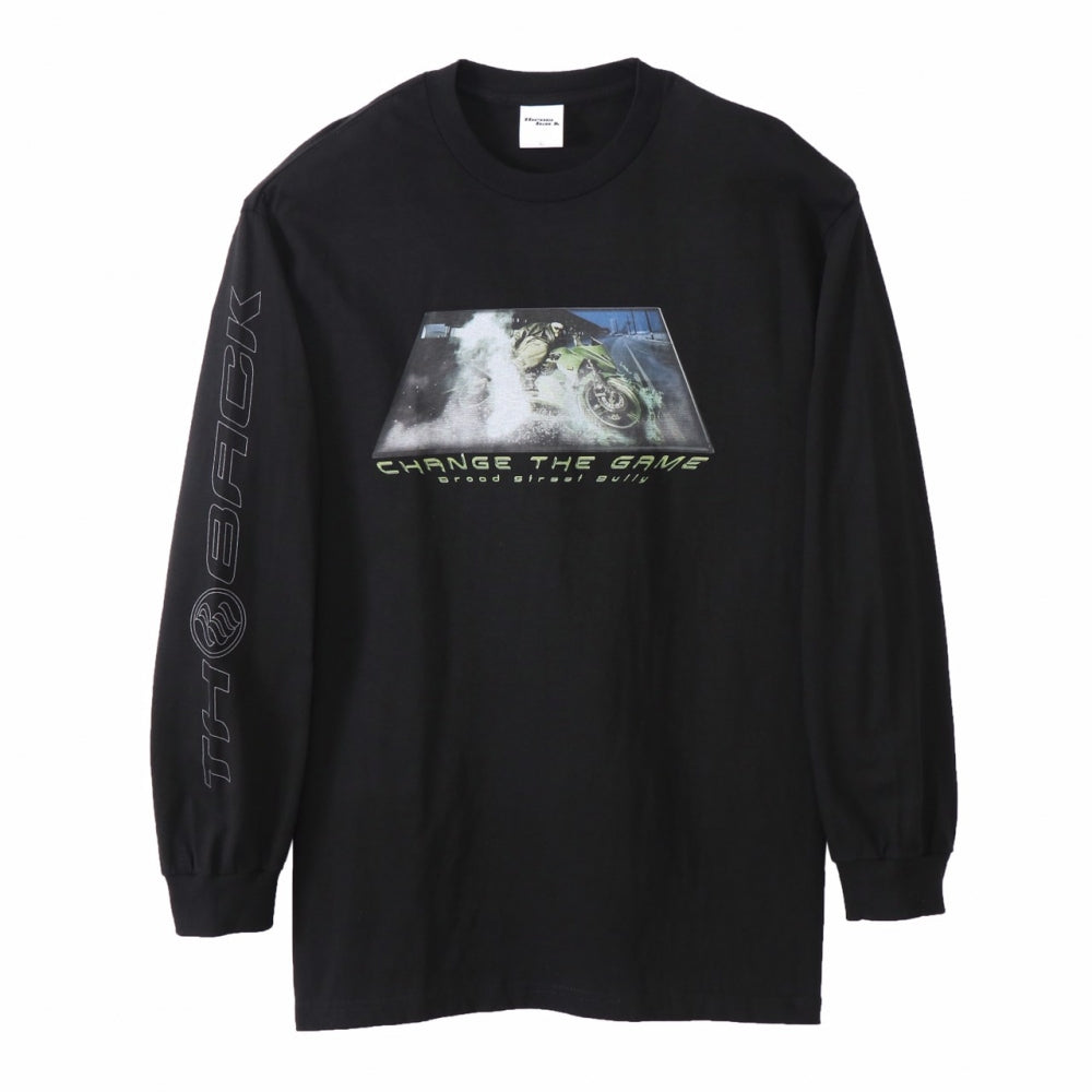 CHANGE THE GAME L/S TEE(BLACK)