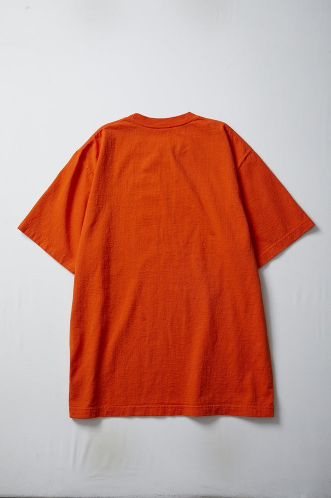 LABEL TEE(ORANGE)