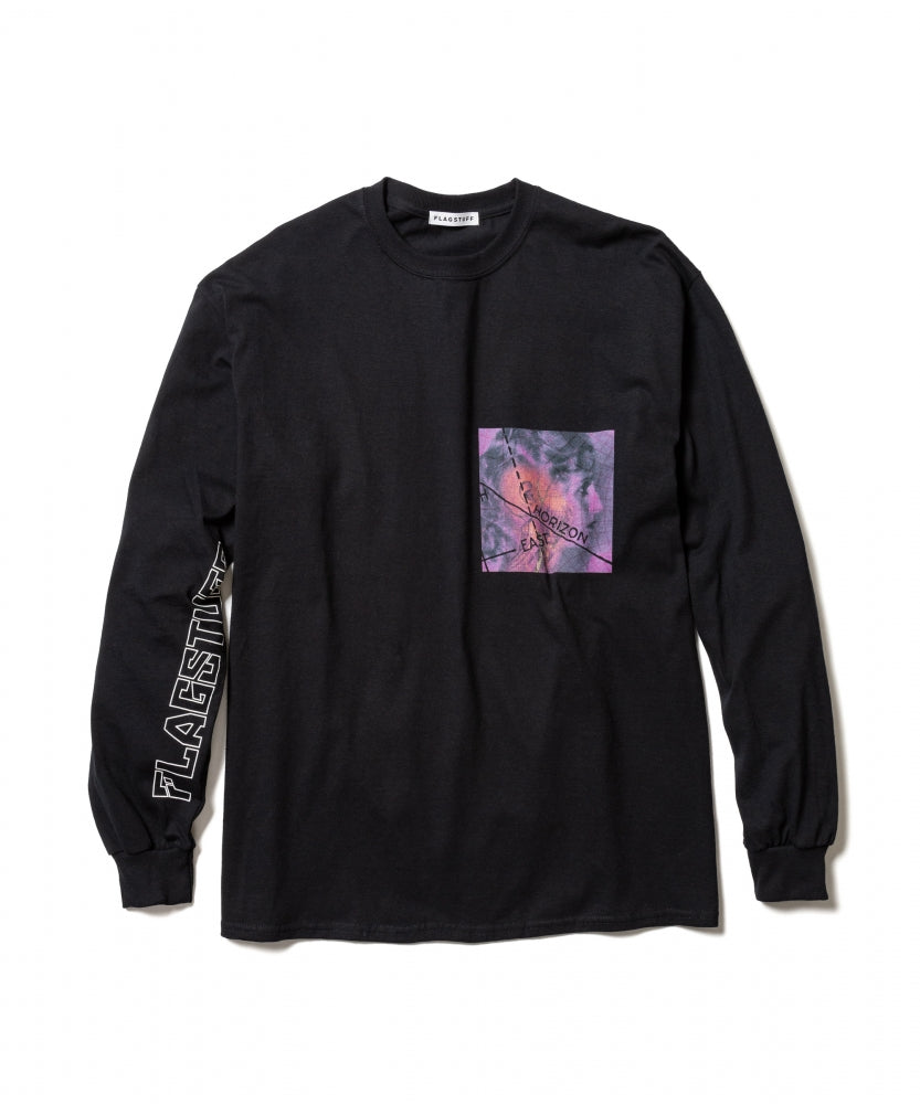HORIZON L/S Tee(BLACK)