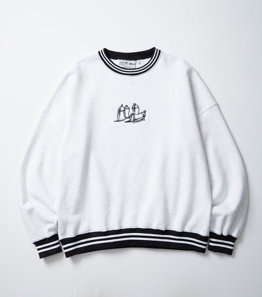 GRAFF CREW SWEAT(ASH)