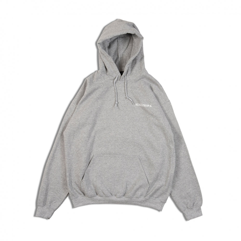Bulugaria Hooded Sweatshirt (GREY)