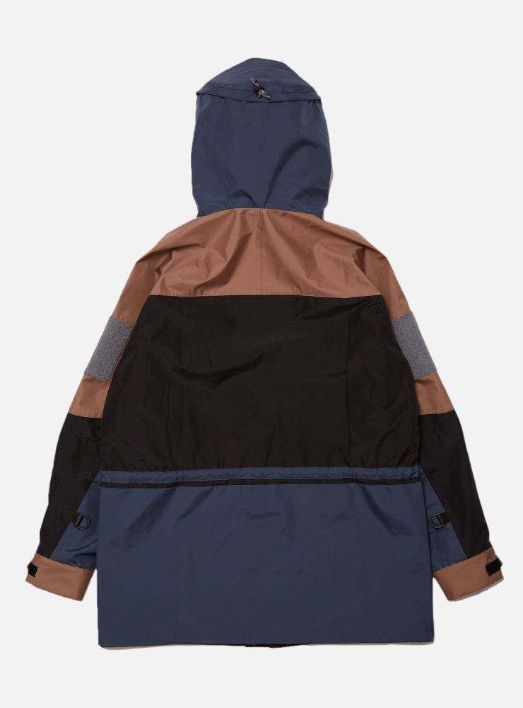 3 LAYER EXTREME STORM JACKET(BROWN MULTI)