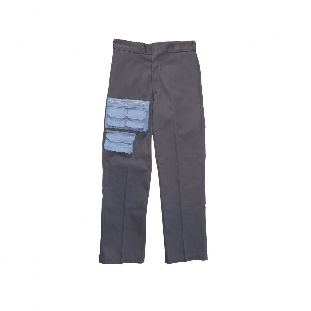 FRONT POCKETS PANTS(GREY)