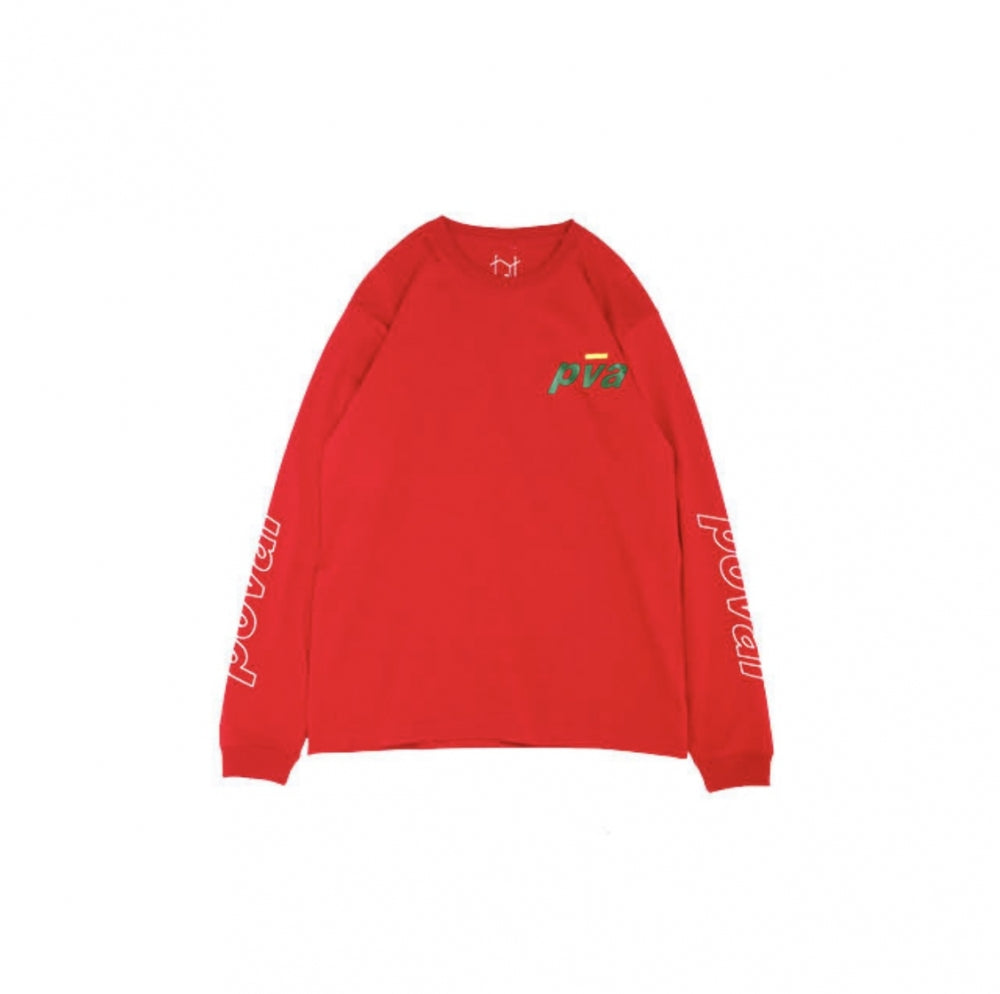 International L/S Tee(Red)