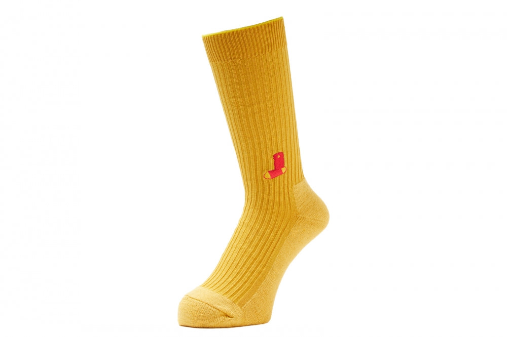 NOTHIN'SPECIAL X WHIMSY / NOTHIN'EMJAY SOCKS(GOLD) -WHIMSY
