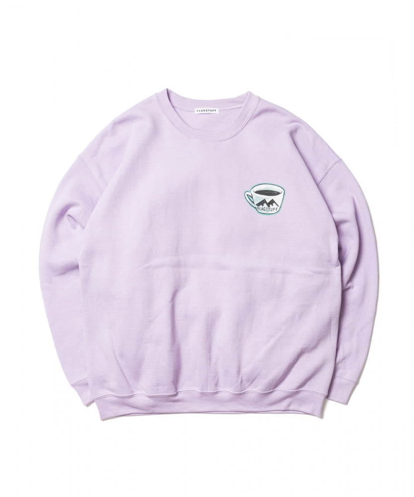"""PIE"" SWEAT(PURPLE) -BLACK EYE PATCH"