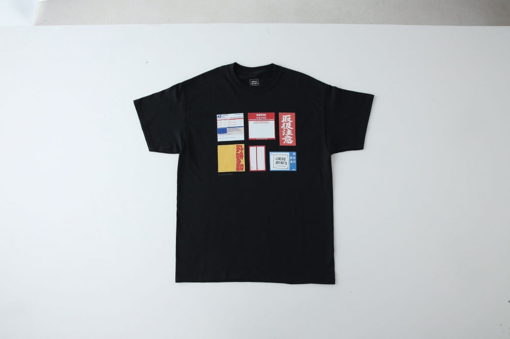 LABEL_ARCHIVES_TEE by BEP(BLACK) -LOOSE JOINTS