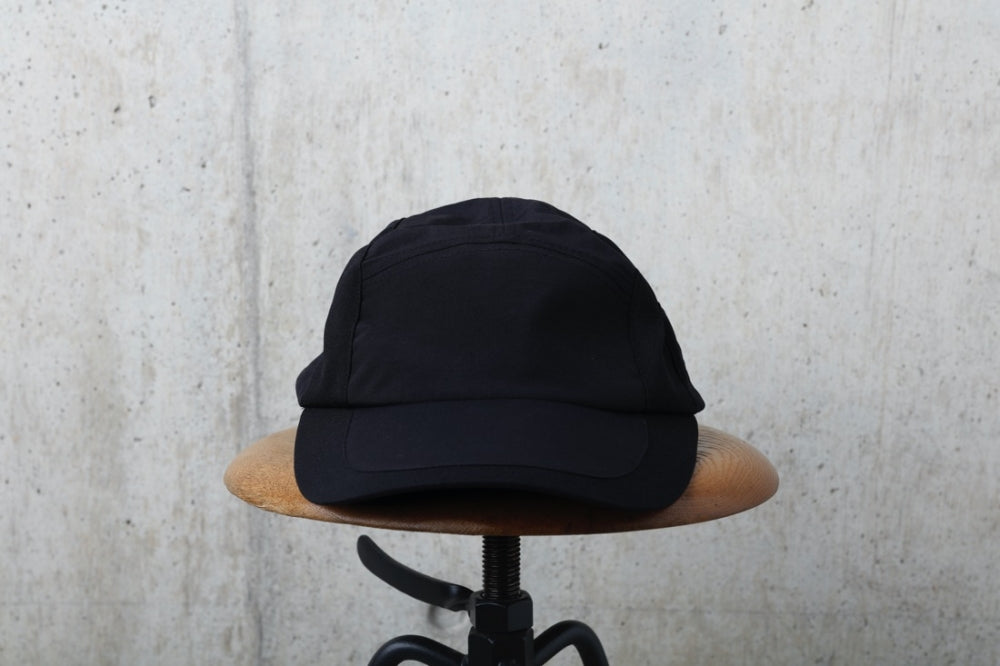 NYLON CHAMBRAY CAP(BLACK) -RAJABROOKE
