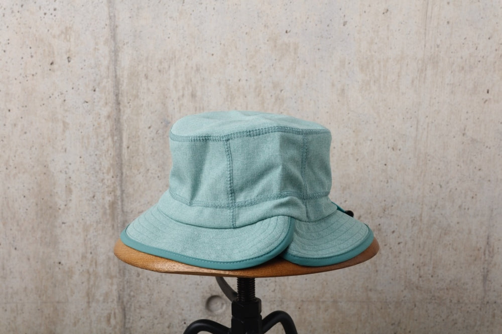 NYLON CHAMBRAY HAT(MINT) -RAJABROOKE