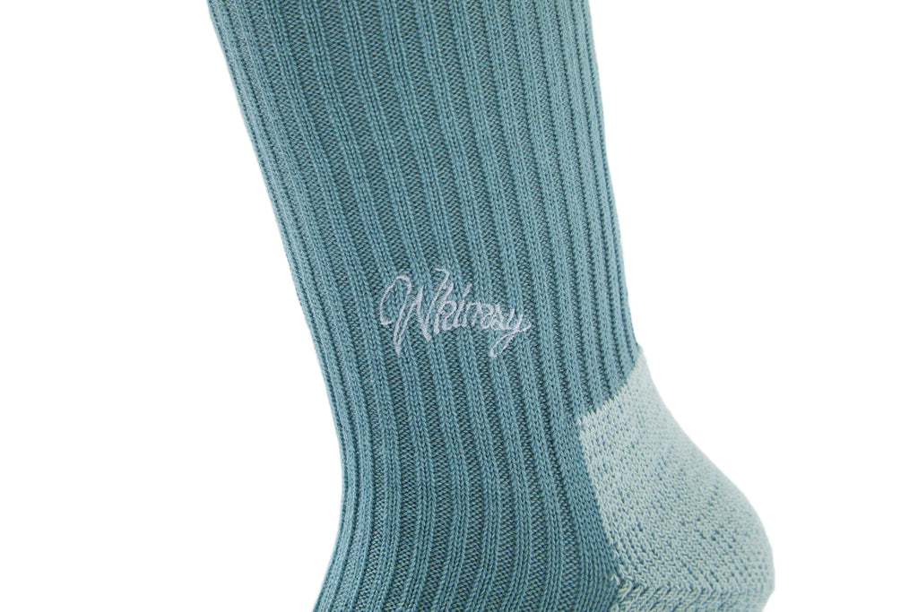 EMJAY SOCKS(STEEL BLUE) -WHIMSY