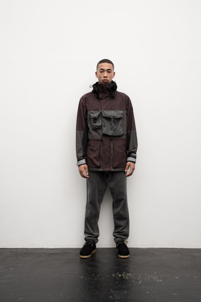 PACKABLE ARMOUR JACKET(EGGPLANT) -BAL