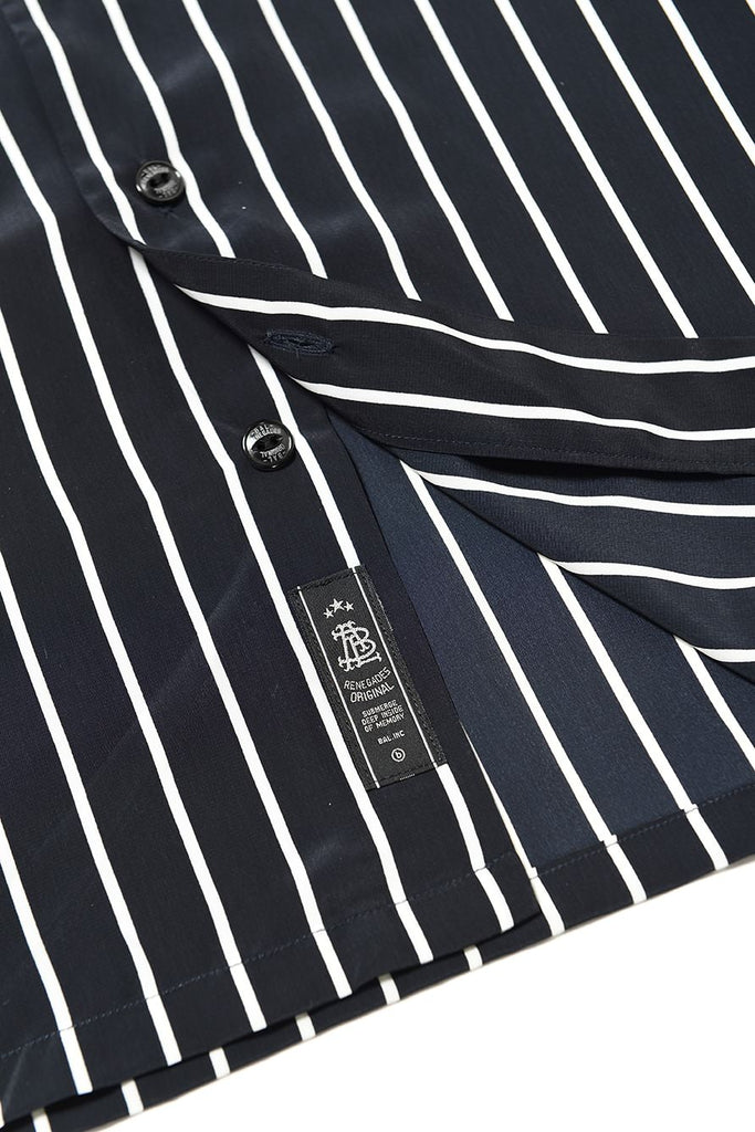 STRIPED SS SHIRT(NAVY) -BAL