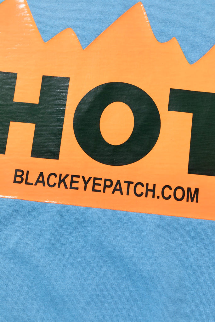 HOT LABEL TEE(SAX) -BLACK EYE PATCH