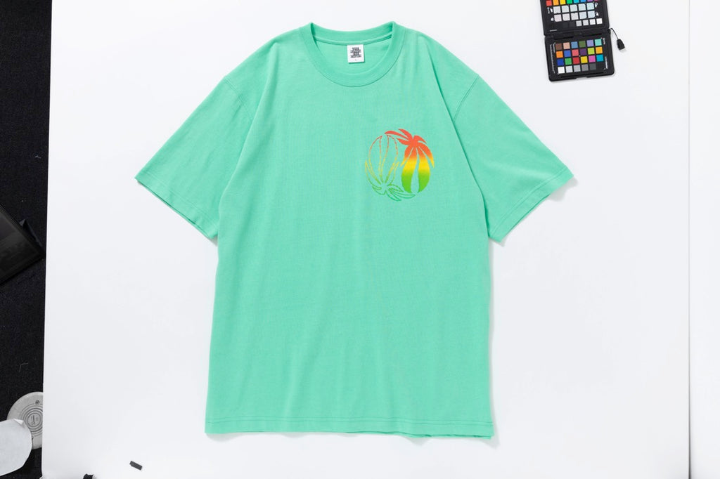 RASTA TEE(MINT) -BLACK EYE PATCH