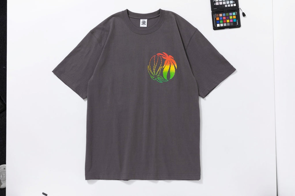 RASTA TEE(CHARCOAL) -BLACK EYE PATCH