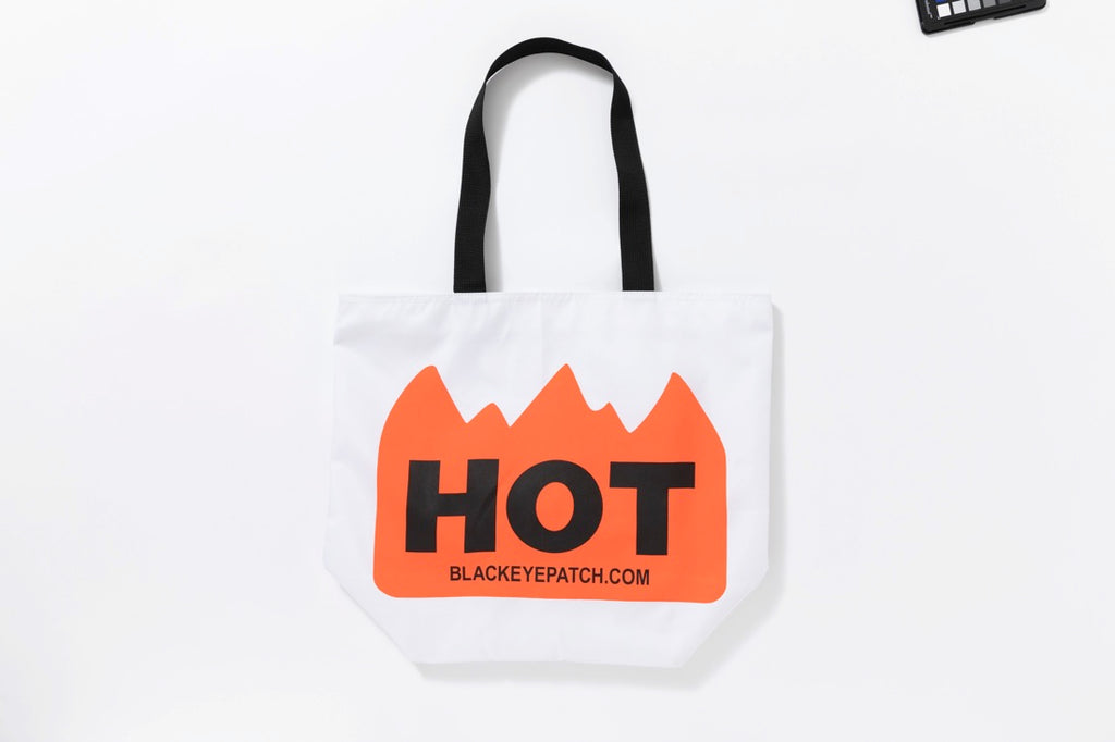 HOT LABEL BAG(WHITE) -BLACK EYE PATCH