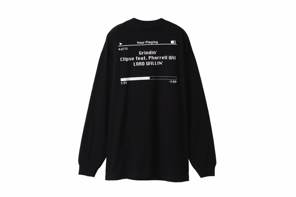 Grindin'g L/S Tee(Black) -THROWBACK