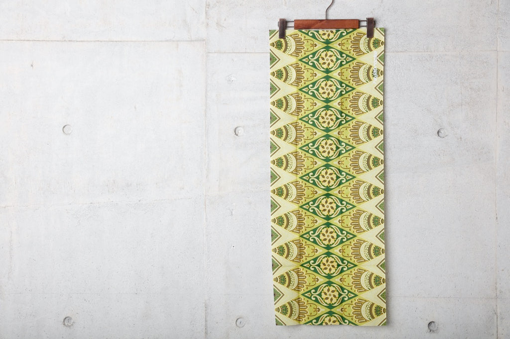 ASIAN BATIK TENUGUI(LT.GREEN) -RAJABROOKE