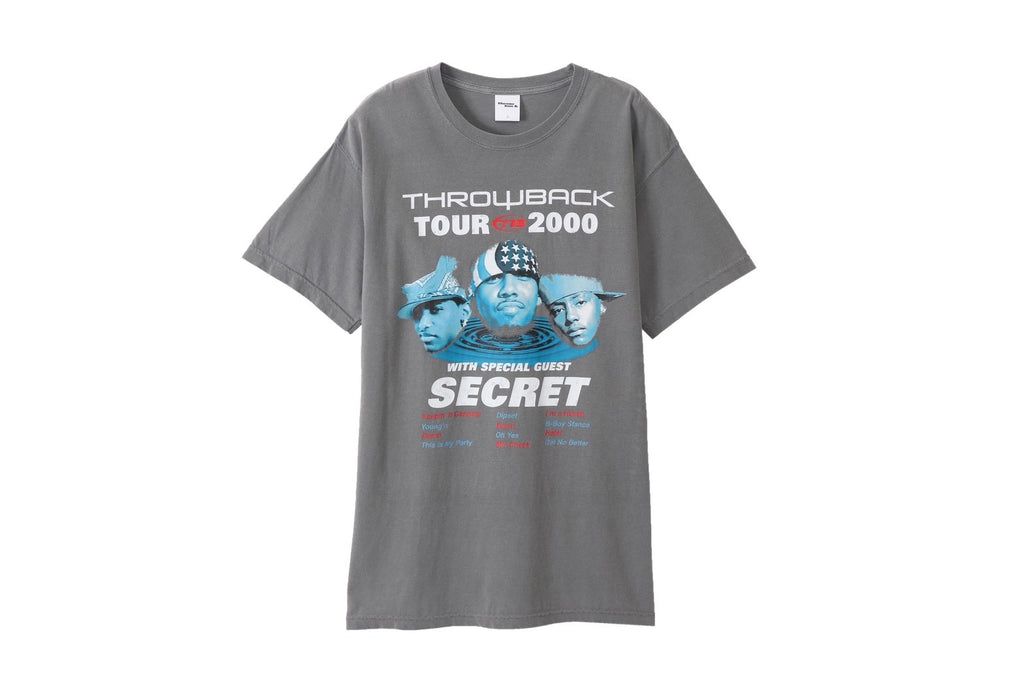 TB TOUR 2000 Tee(GRAY) -THROWBACK